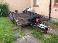 18ft car transport trailer