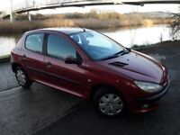 WANT A AUTOMATIC ..THIS 206 5 DOOR AUTO IS A CHEAP FIRST CAR OR RUNAROUND..AIR CON..CENTRAL LOCK .CD