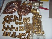 Plumbing/Heating Fittings,Valves (See Pics,Reduced)Last time Posting