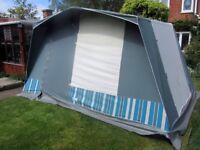 4 Berth Frame Tent.