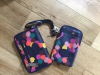 Fossil bag (used but vgc) Fossil Purse and Fossil phone case (brand new)