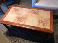 Tiled Retro Coffee Table