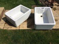 2 X Large Butler Sinks ( for garden use)