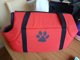 Carry bag for puppy or small dog