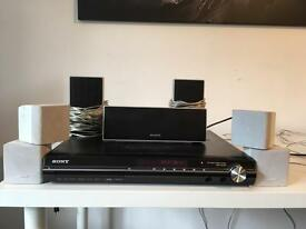 Bose Acoustimass 5 Series 3 (2 bose cube speakers and a sub) with Sony DAV DZ230 home cinema