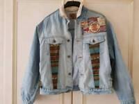 80s demin jacket xl/l and 80s shirt wrangler