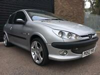 Peugeot 206 1.4 Quiksilver Hatchback 3dr Petrol Manual (a/c) one year mot