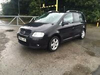 2007 Vw touran 2.0 tdi sport 7 seater swap x5 st2
