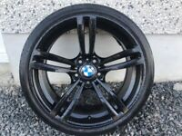 19INCH 5/120 GENUINE BMW ALLOY WHEELS WITH WIDER REARS & TYRES FIT MOST MODELS