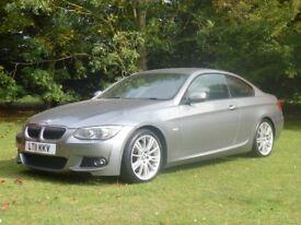 BMW 3.0D 325D M SPORT AUTO COUPE @ SUFFOLK CAR CENTRE