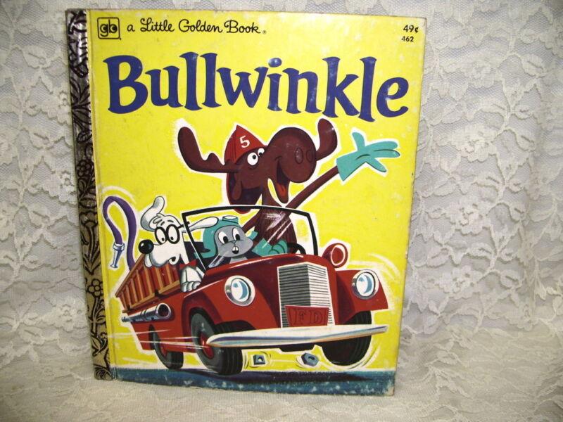 A Little Golden Book Bullwinkle by DAvid Corwyn 1975