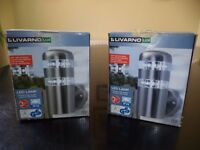 Pair of Livarno LED Outdoor Wall lights