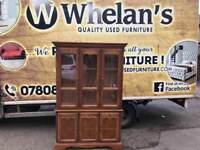 Solid oak wood Welsh dresser £55