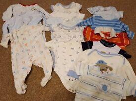 Baby boys 3-6 month clothes bundle