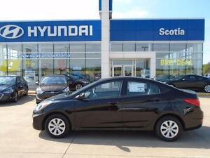 2016 Hyundai Accent GL NEW VEHICLE/FULL WARRANTY