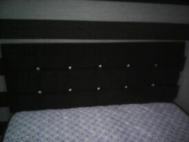Double bed and head board brand new