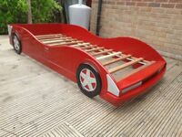 Free Childs Racing Car Bed