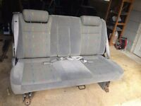 VW Van Rear Seats - Transporter, Vito, Traffic, Transit, Vivaro Etc.