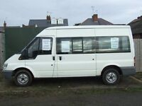 ford transit 10 seater minibus 03 diesel
