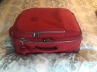 Kipling Ketchup cabin size suitcase