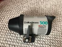 Elinchrom 500 studio flash monobloc 500w
