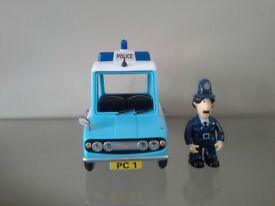 Postman Pat Large Friction Police Car and PC Selby figure
