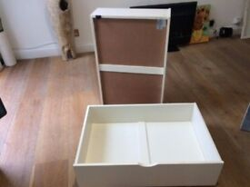 Under storage boxes for bed
