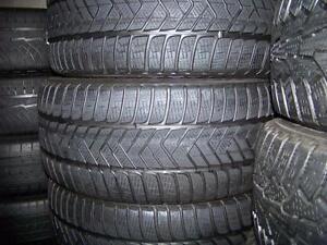 225-45R18 > HIVER , 2 ou 4 pneus usagés .