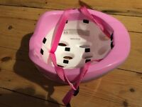 Peppa pig cycling helmet