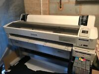 "Epson SureColor SC-F6000 Large Format Dye Sublimation 44"" Printer - Ex Demo"