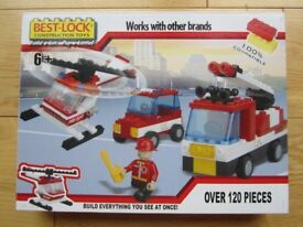 BEST-LOCK CONSTRUCTION TOY~ OVER 120 PIECES ~ BRAND NEW ~ AGE 6+ ~ £5