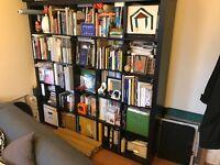 Bookcase/bookshelf/shelving unit Ikea KALLAX Shelf unit, black-brown
