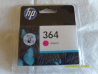 Several coloured ink cartridges for hp printer - 364