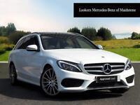 Mercedes-Benz C Class C250 D AMG LINE PREMIUM PLUS (white) 2015-10-27