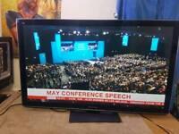"Panasonic 50"" TX-P50VT30B Smart Ethernet Full HD 1080p Plasma TV"