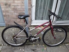 £30 lady/s bike all working no offers can deliver for petrol cost
