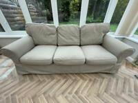 IKEA Extorp Three Seater Sofa