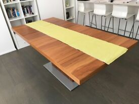 Bo Concept extendable wooden table just £800