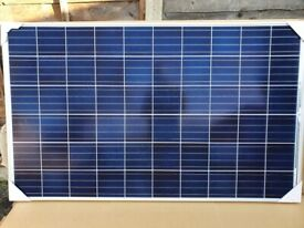 275W Brand New Tier 1 solar panels. 12/24V DIY, Narrowboat, home
