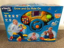 Grow and go ride on. Used but reboxed. Fully working. Collection Hinckley or postage possible.