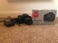 Canon EOS 1300d plus 18-55mm lens DSLR with box