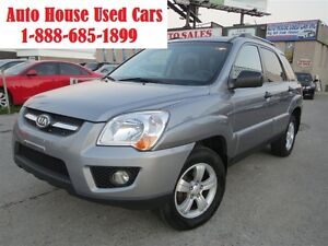 2009 Kia Sportage Limited, AWD,Leather,Sunroof