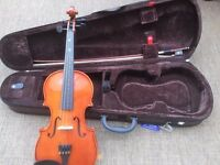 Violin and Case - Stentor 3/4 size