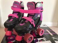SFR Storm Black/Purple Quad Roller Skates