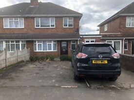 4 bed high spec semi detached house on Showell Rd, Wolverhampton. Parking, close to all amenities