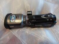 3D PANASONIC HDC-SD900 1920x1080p 50p 3D lens Camcorder ,3MOS sensor
