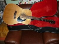 the heritage acoustic,made old gibson factory j45