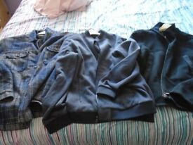 mens jackets/overcoat size L