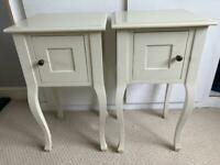 Pair bedside tables or lamp tables