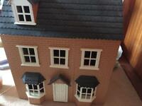 Dolls House for Sale. Lighting + High Quality Furniture!